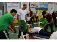 Bedensel Engelliler Halter Türkiye Şampiyonası Aksaray'da Yapıldı