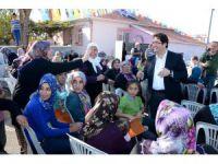 Başkan Yazgı Ve AK Parti Heyetinden Mahallede İstişare Toplantısı