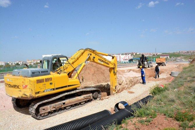Aksaray'da Altyapı Çalışmaları