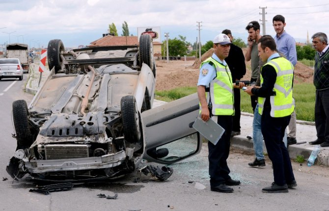 Aksaray'da Trafik Kazaları: 3 Yaralı