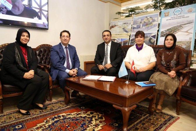 Aksaray Belediyesi Kadın İstihdamı İçin Protokol İmzaladı