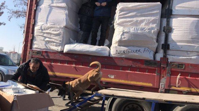Aksaray'da 23 Bin 200 Paket Kaçak Sigara Ele Geçirildi