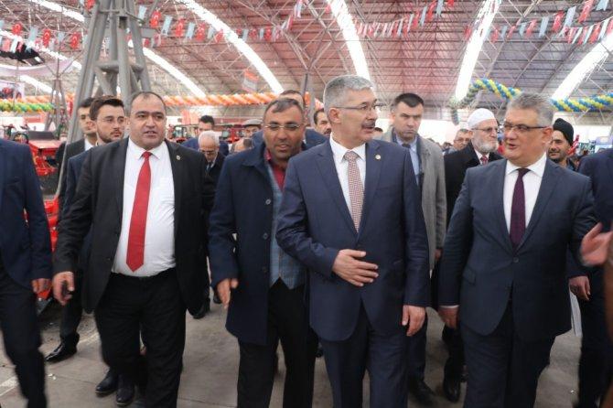 Aksaray'da 5'inci Uluslararası Tarım Ve Hayvancılık Fuarı Açıldı