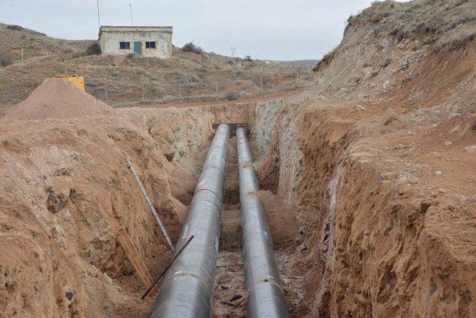 Aksaray İçme Suyu Arıtma Tesisi İnşaatı Devam Ediyor