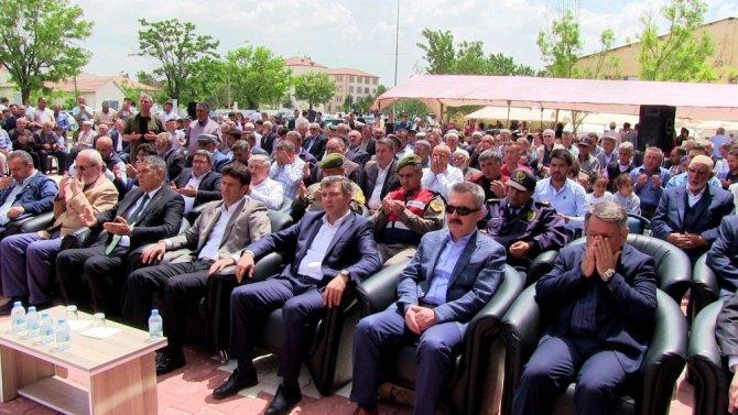 Sultanhanında Alaaddin Keykubat Camii ibadete açıldı