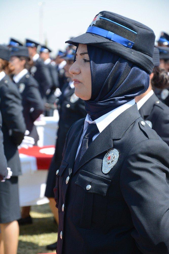 15 Temmuz şehidi ikiz polislerin eşleri de polis oldu