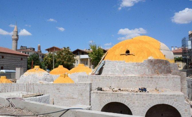 Aksaray'da 2. Kılıçarslan Hamamı gün yüzüne çıkıyor