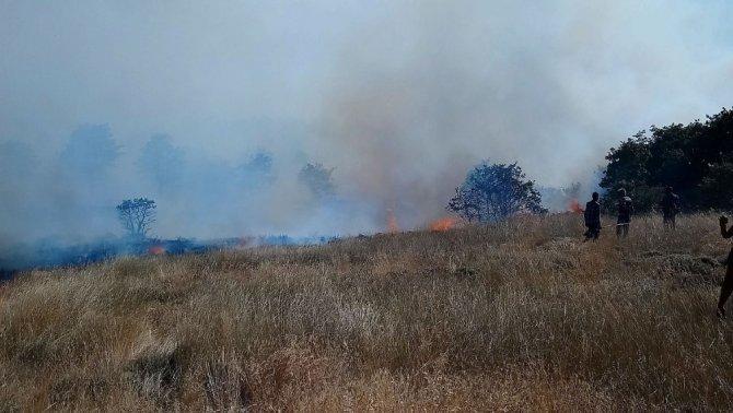 Hasan Dağı'nda orman yangını sürüyor