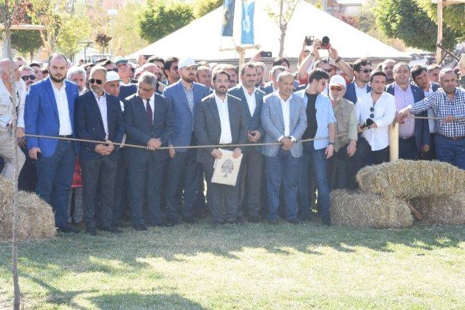 """Etnospor Konfederasyonu Başkanı Erdoğan: """"Küreselleşmeye eşlik eden tek tipleşmeye biz karşıyız"""""""