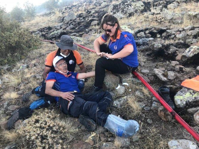 Aksaray'daki orman yangını 50 saat sonra kontrol altına alındı