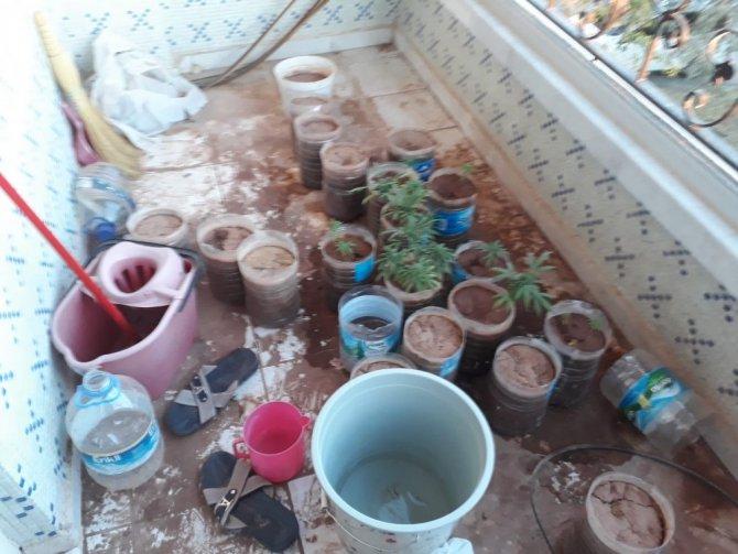 Aksaray'da uyuşturucuyla yakalanan şüpheli tutuklandı