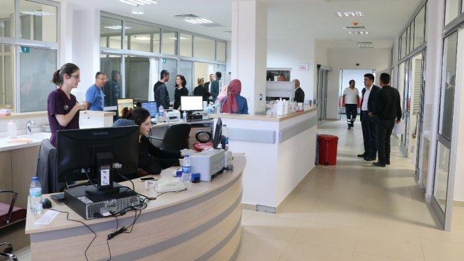 Aksaray'da 5 yıldızlı hastanede 5 yıldızlı sağlık hizmeti dönemi