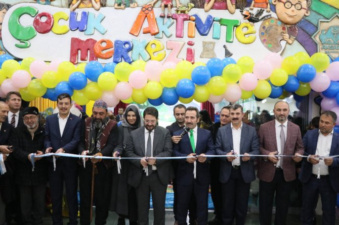 Türkiye'nin en büyük Çocuk Aktivite Merkezi Aksaray'da açıldı
