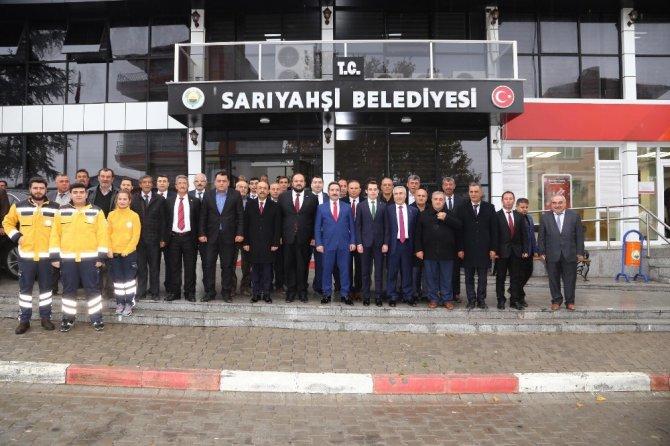 Vali Mantı Ortaköy, Ağaçören, Sarıyahşi ilçelerinde incelemelerde bulundu