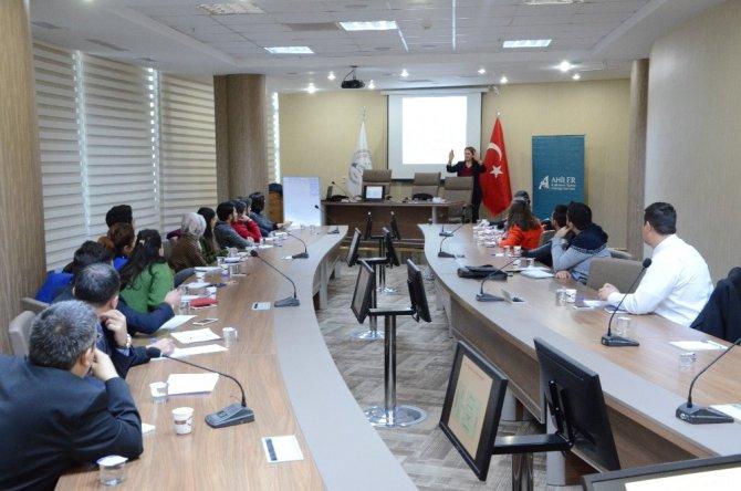 ATSO'da e-ticaret eğitimi verildi