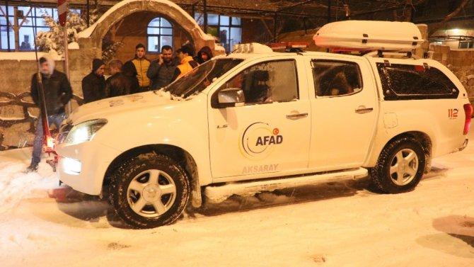 Önce kaybolan, sonra da mahsur kalan öğrencileri AFAD kurtardı