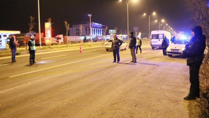 Aksaray'da 1 ayda 17 bin araç denetlendi