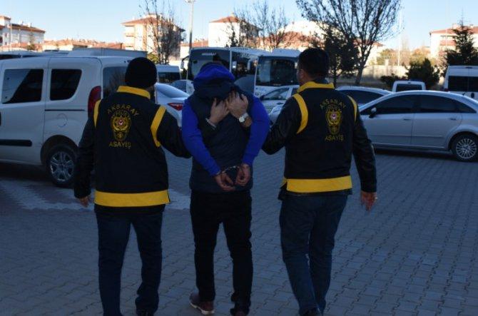 Aksaray'da haklarında hapis cezası bulunan 3 suçlu yakalandı