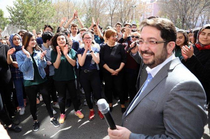 Başkan Yazgı nevruz kutlamasına katıldı