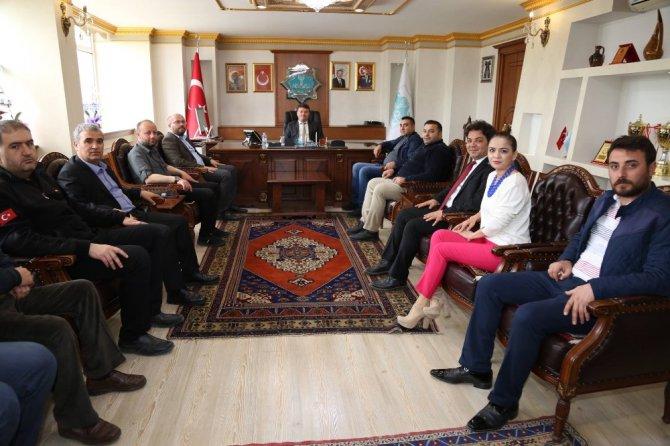 Gazeteciler Cemiyetinden Başkan Dinçer'e ziyaret