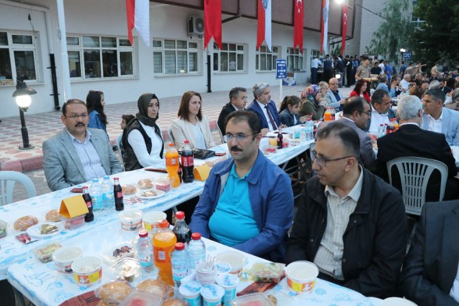 Aksaray emniyetinden iftar programı