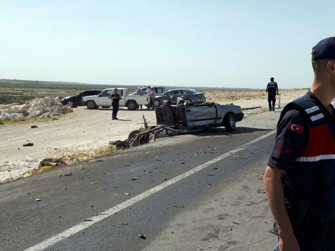 LGS yolunda kaza: 4 yaralı