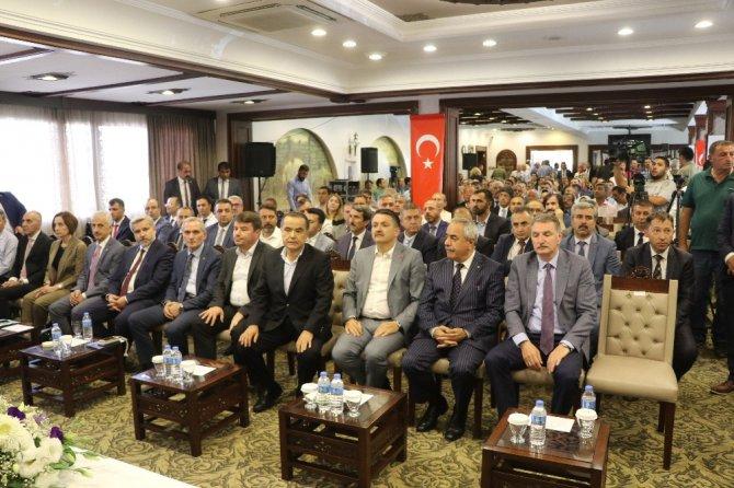"""Bakan Pakdemirli: """"Türkiye'de futboldan daha çok konuşulan konu tarım ve hayvancılık"""""""