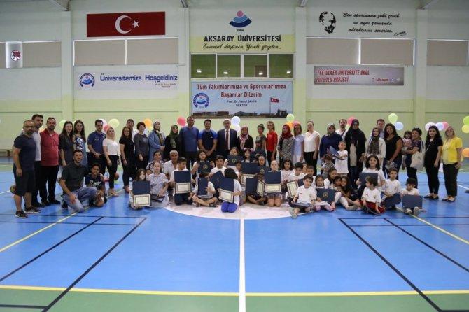 ASÜ'de çocuklara yönelik hareket eğitimi programı tamamlandı