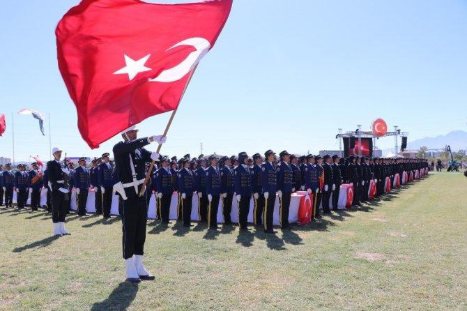 Aksaray POMEM'de 631 yeni polis mezun oldu