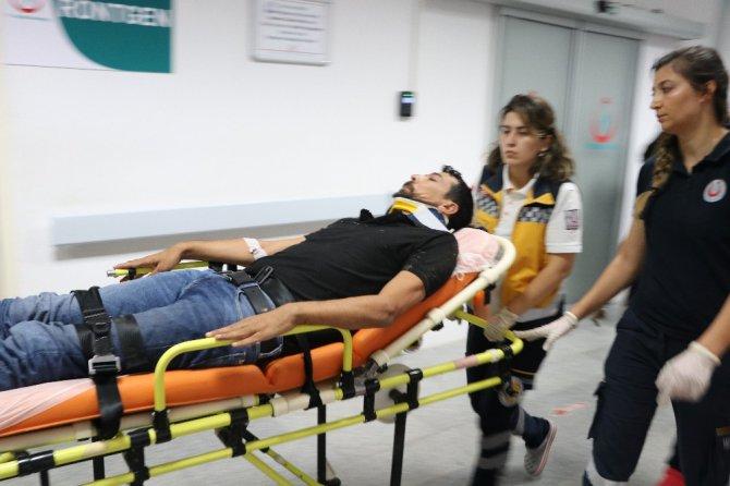 Aksaray'da trafik kazası: 7 yaralı