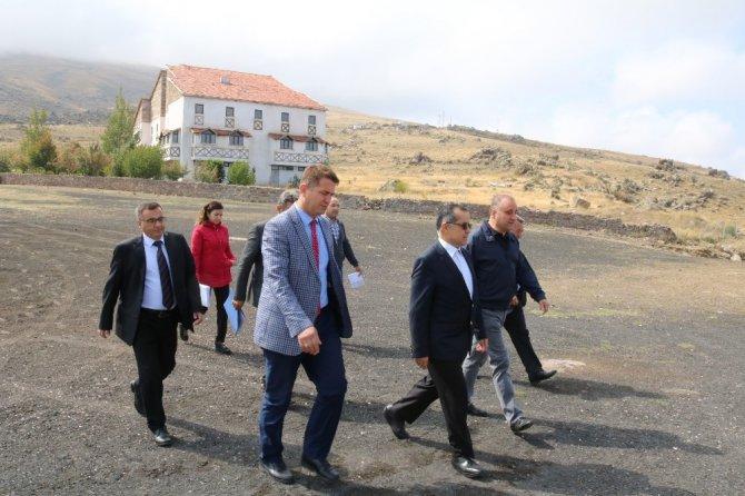 Ihlara ve Hasan Dağı turizm projelerine start verildi