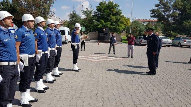 Aksaray'ın yeni Emniyet Müdürü Kolcu göreve başladı