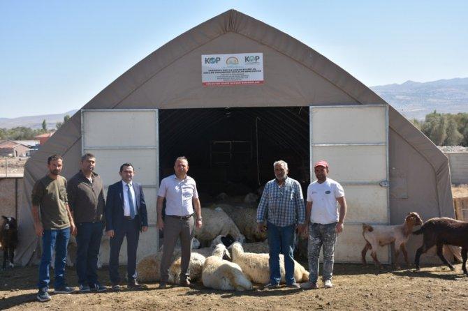 Aksaray'da KOP kapsamında yüzde 50 hibeli destekler devam ediyor