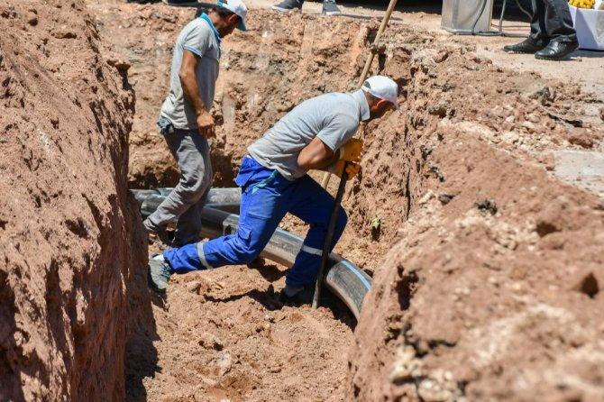 """Başkan Dinçer: """"6 ayda alt yapıya ciddi yatırımlar yaptık"""""""