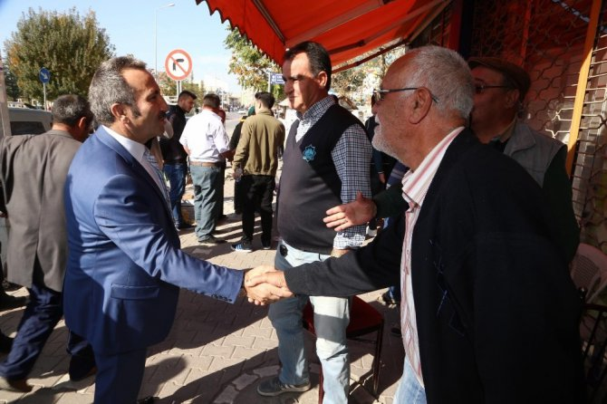 Vali Ali Mantı esnaf ziyaretinde bulundu