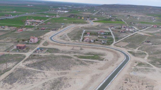 Aksaray'da 129 bin 500 dekar tarım arazisi sulandı