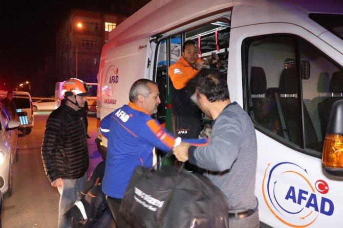Kimyasal biyolojik ve şarbon alarmında numuneler Ankara'ya gönderildi