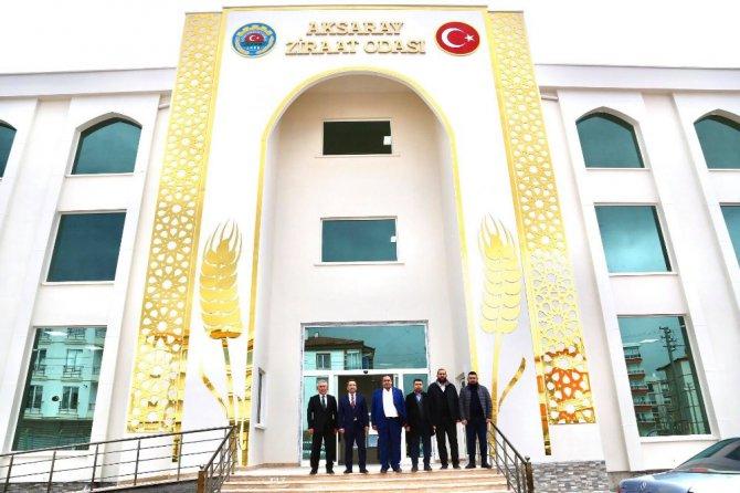 Aksaray Ziraat Odası yeni hizmet binası yakında hizmete girecek