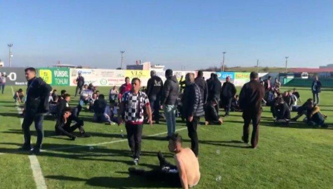 68 Aksaray Belediyespor taraftarları darp edildi