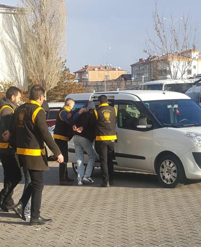 Aksaray'da yakalanan 3 gaspçı tutuklandı
