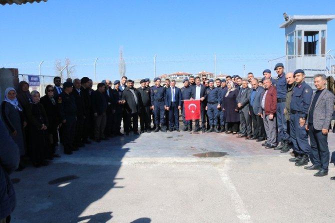 Aksaray'da Mehmetçik için kurban kesilerek dua edildi