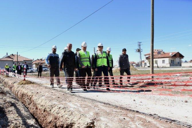 Aksaray Hürriyet Mahallesi doğal gaza kavuşuyor