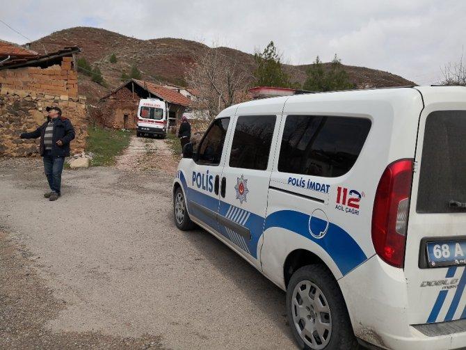 Aksaray'da yaşlı adam evinde ölü bulundu