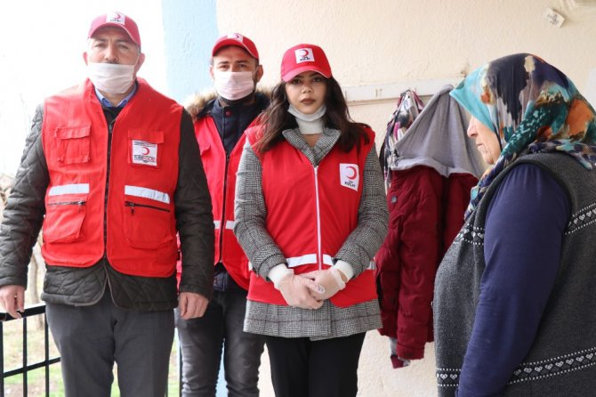 Aksaray'da Kızılay herkesin tüm ihtiyacını karşılıyor