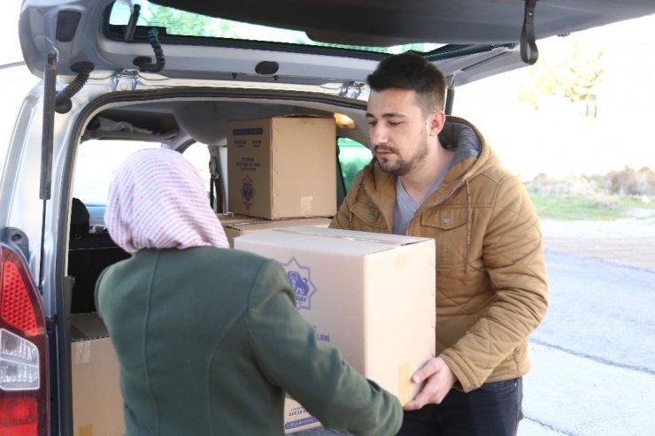 Aksaray Belediyesinden çölyak ve trozinemi hastalarına gıda desteği