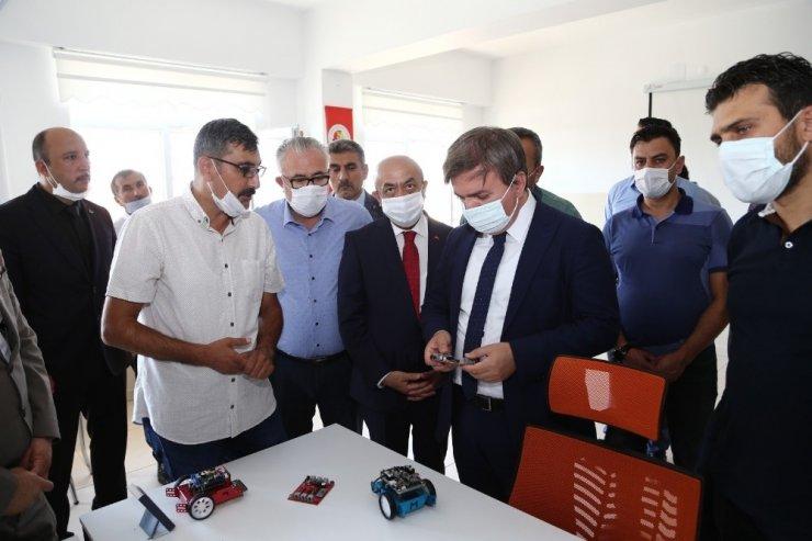 Aksaray'da burslu, servisli, yemekli ve iş garantili eğitim desteği