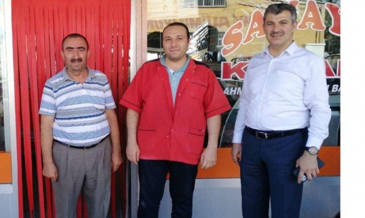 AK Parti İl Başkanı Altınsoy sanayi esnafını ziyaret etti