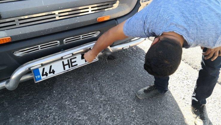 Ceza yememek için plakasını İzmir'de kapattı, Aksaray'da yakalandı