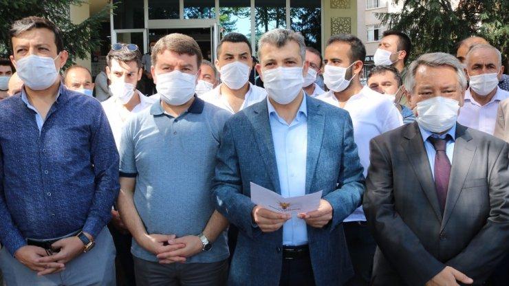 """Başkan Altınsoy: """"Belediye başkanımız Evren Dinçer'in yanındayız"""""""