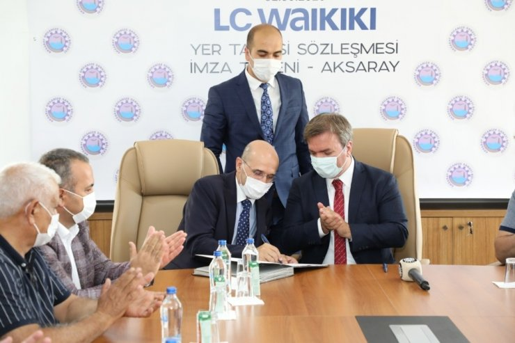 Aksaray'da 5 bin kişinin istihdam edileceği fabrikaya arsa tahsisi
